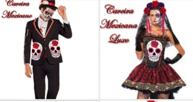Caveira Mexicana Luxo