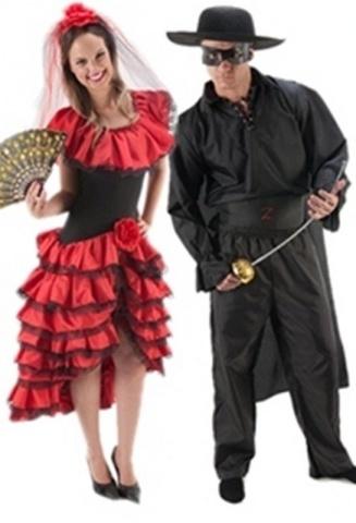 Espanhola e Zorro
