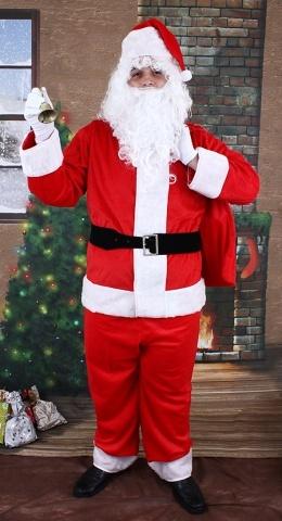 Papai Noel Cetim ou Veludo