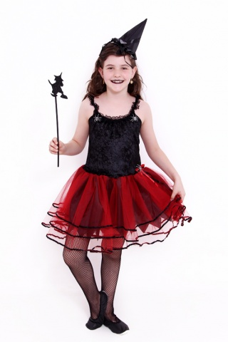 Bruxa Bailarinha Roxo,Laranja,Pink etc