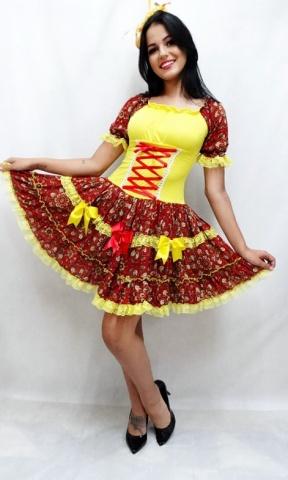 Junina Taisa Amarelo